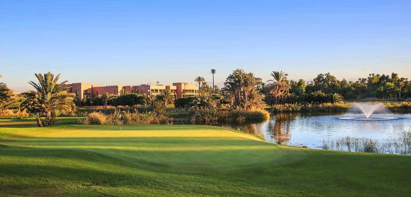 Hotel Du Golf  U2013 Marrakech  U2013 Golfpassi