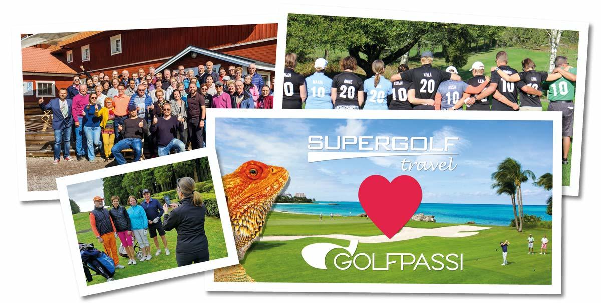 Supergolf Travel ja Golfpassi yhdistyvät!